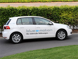 Volkswagen E-Golf: Jméno elektrického Golfu odhaleno
