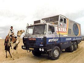 P�ed 25 lety vyrazila Tatra kolem sv�ta