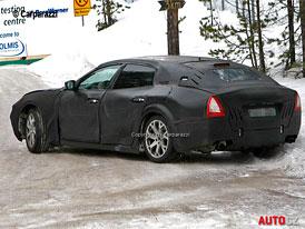 Spy Photos: Maserati Quattroporte dostane 4x4