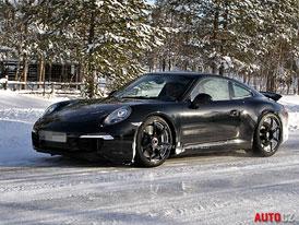 Spy Photos: Dostane Porsche 911 GT3 dvouspojkovou převodovku?