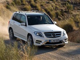 Mercedes-Benz GLK po faceliftu: Motory, ceny, v�bava