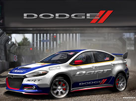 Dodge Dart pro rallycross: 2,0 turbo, 600 kon�