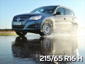 ADAC Test letních pneumatik: 215/65 R16 H pro SUV