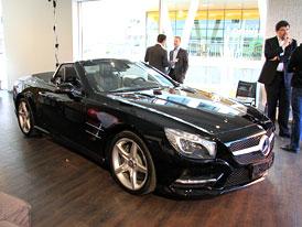 Mercedes SL vstupuje na český trh, stojí od 2,4 milionu Kč
