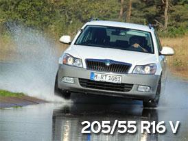 ADAC Test letních pneumatik: 205/55 R16 V