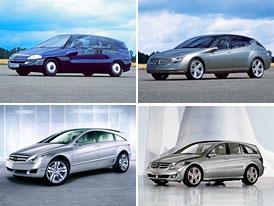 Design po generacích: Mercedes-Benz R-Klasse – od GST po současnost