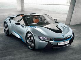 BMW i8 Spyder odhalen na oficiálních fotografiích