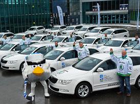 Oficiálním vozem hokejového mistrovství světa bude Škoda Superb Combi