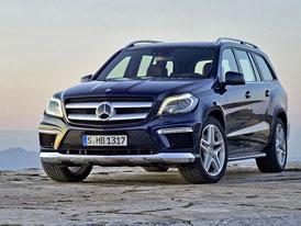 Mercedes GL vyzrazen, představí se tento týden v New Yorku