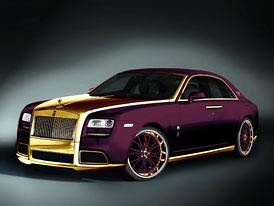 Rolls-Royce Ghost Purple posouvá hranice automobilového nevkusu