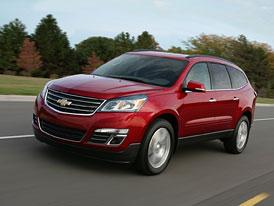 Chevrolet Traverse: Osmimístný crossover s novou tváří Chevy