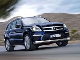Mercedes-Benz GL oficiálně: Technická data, velká fotogalerie