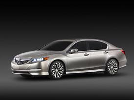 Acura RLX je nový luxusní sedan Hondy pro Ameriku (galerie a video)