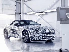 Jaguar F-Type: Překvapení z New Yorku, které míří do výroby