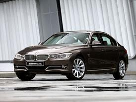 BMW chystá do Pekingu řadu 3 F30 s delším rozvorem