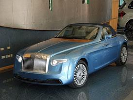Pininfarina Hyperion: Unik�tn� Rolls-Royce je na prodej