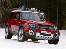 Land Rover DC100 by mohl být samostatným modelem