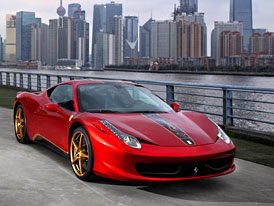 Ferrari slav� 20 let sv�ho p�soben� v ��n� speci�ln� edic� 458