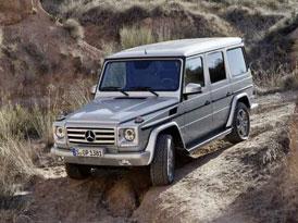 Mercedes-Benz třídy G nově i jako AMG V12 (fotografie a ceny)