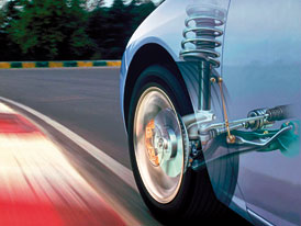 Technika v automobilech: Odpru�en� a tlumen�