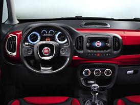"Interiér Fiatu 500L ""krátkou"" pětistovku skoro nepřipomíná"