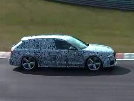 Spy Photos + video: Audi RS 6 Avant přistiženo při testování