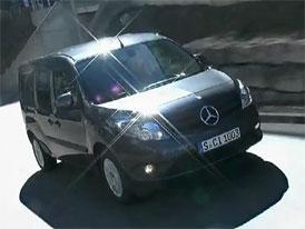 Mercedes-Benz Citan na prvním videu