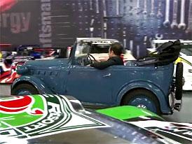 Carlos Ghosn mezi historickými Nissany a Datsuny (video)