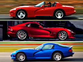 Design po generacích: Dodge Viper