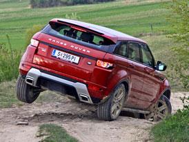 Range Rover Evoque eD4: Jízdní dojmy z pohonu 4x2