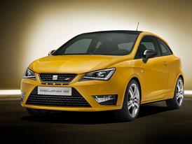 SEAT Ibiza Cupra Concept: Facelift i pro ostrou verzi