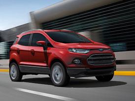 Ford EcoSport: Fiesta SUV dostane tříválec