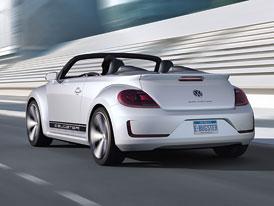 VW E-Bugster se ukazuje i bez střechy