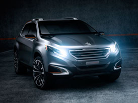 Peugeot Urban Crossover Concept: SUV s geny 208
