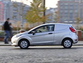 Ford Fiesta Van ECOnetic: Dodávka se spotřebou 3,3 l/100 km
