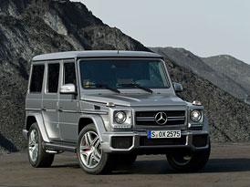 Nov� Mercedes-Benz G 63 AMG t�ikr�t na videu