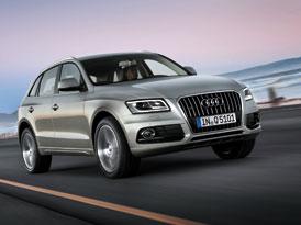 Audi Q5 facelift: Nově i s motorem 3,0 TFSI (doplněno video)