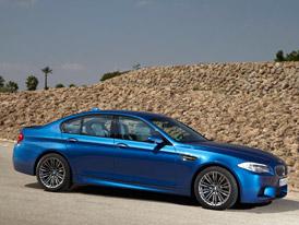 Video: BMW M5 se syst�mem Active Sound Design � a bez n�j
