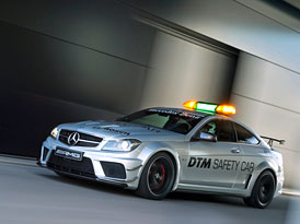 Mercedes-Benz C 63 AMG Coupé Black Series jako nový safety car pro DTM