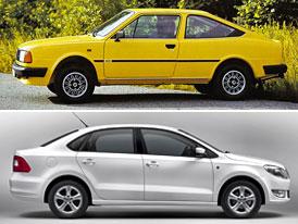 Design po generacích: Škoda Rapid počtvrté (opět) jinak