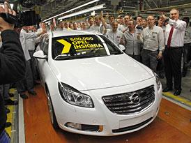 Opel Insignia má na kontě už 500.000 vyrobených kusů