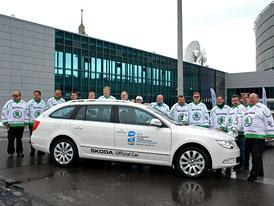 Už 20 let je Škoda partnerem MS v hokeji