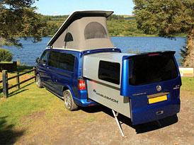 Video: VW Multivan s výsuvnou zádí Doubleback