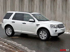 Spy Photos: Land Rover Freelander dostane diodový facelift