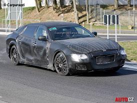 Spy Photos: Maserati Quattroporte VI na nových fotkách
