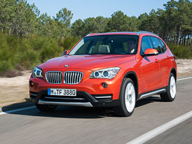 BMW X1 facelift na nových fotografiích
