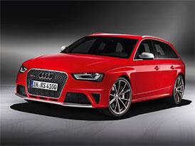 Nové Audi RS4 Avant bude stát až 2,8 milionu korun, u nás snad méně