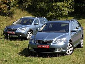 Škoda Octavia 4x4 končí, zůstává jen přední pohon