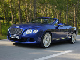 Bentley Continental GTC W12 na nov�ch fotografi�ch