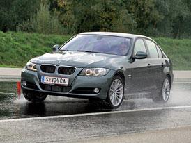 BMW m� probl�m: smyk p�i brzd�n� na mokru